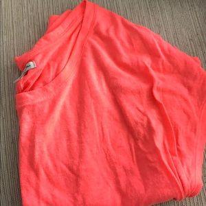 Hot pink t shirt